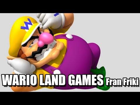 WARIO LAND GAMES