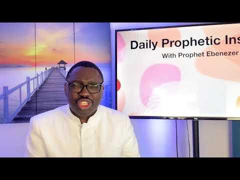 Prophetic Insight September 10, 2021