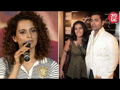 Kangana Keeps Mum On Nepotism Debate | Karan – Kajol Finally Decide To Bury The Hatchet