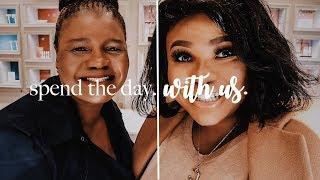 SPEND THE DAY WITH US FT. MUMZO | Cynthia Gwebu