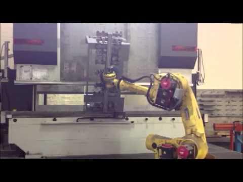 Esempio di lavorazione al robot di piega