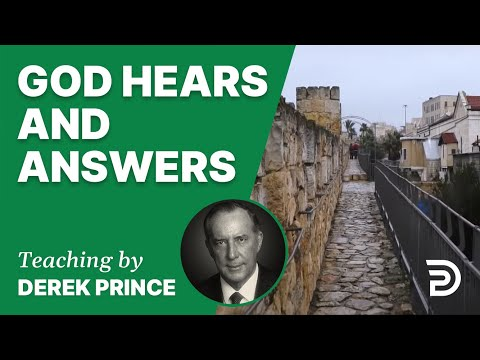 God Hears and Answers 09/1