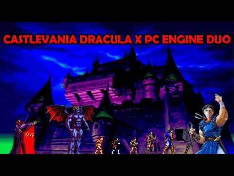Castlevania Dracula X PC Engine Duo con Antonio Jurado #4