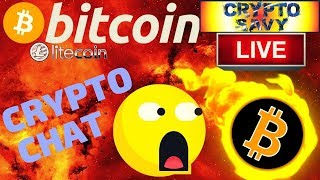 🔥Crypto Savy Crypto Talk🔥bitcoin litecoin price prediction, analysis, news, trading