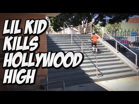 LIL KID DESTROYS HOLLYWOOD HIGH !!! - A DAY WITH NKA -