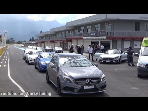 AMG Trackday - AMG GT S, SLS, Brabus 650, A45, CLA45, C63 and more!