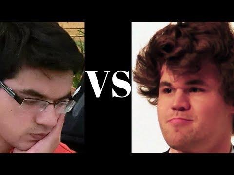 Tata Steel 2018 tiebreak blitz chess game: Magnus Carlsen vs Anish Giri - Game 2 of 2