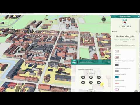Digital översiktsplan Alingsås kommun - instruktionsfilm