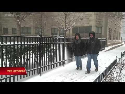 Bão tuyết đổ bộ thủ đô nước Mỹ (VOA)