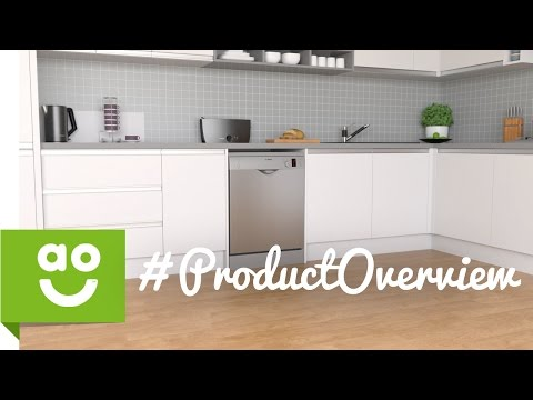 Bosch Dishwasher SMS50C28GB Product Overview | ao.com
