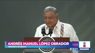 AMLO llama comandante 'Borolas' a Felipe Calderón | Noticias con Yuriria Sierra