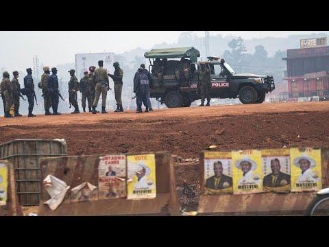 Elecciones presidenciales en Uganda entre la censura y la represión
