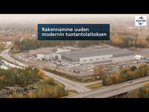 Rakennamme uuden, tehokkaan ja kestävän tehtaan