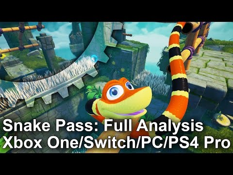 Snake Pass: Complete Tech Analysis + Switch/PC/PS4/Xbox One Comparison - default