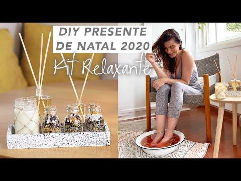 DIY Presente de Natal p/ 2020 – Kit Relaxante