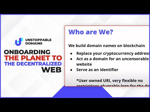 Onboarding the planet to the decentralized web.
