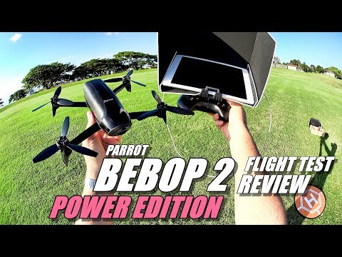 PARROT BEBOP 2 Review (SKYCONTROLLER Edition + BACK PACK