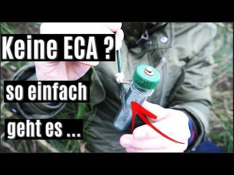 Keine ECA ? - die Alternative  / Geocaching VLOG