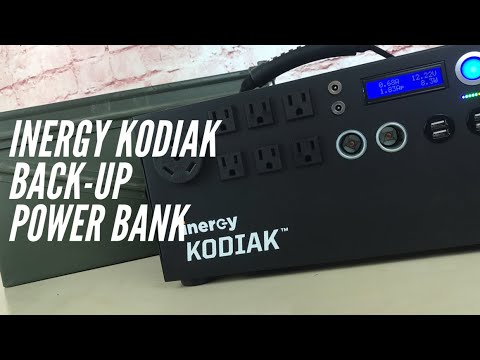 Inergy Kodiak Back-Up Power Bank: Power for Emergencies, Camping, Travel, and More