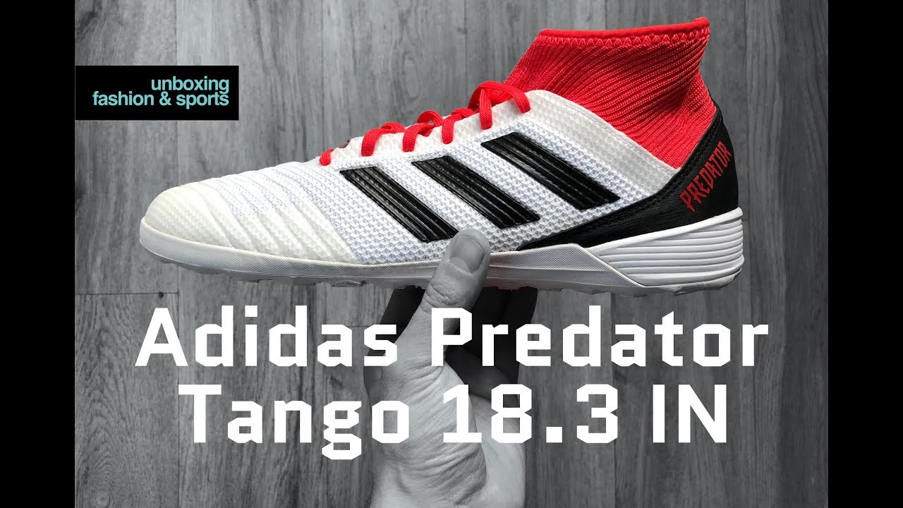 Adidas Predator Tango 18 3 IN 'Cold Blooded Pack' | UNBOXING
