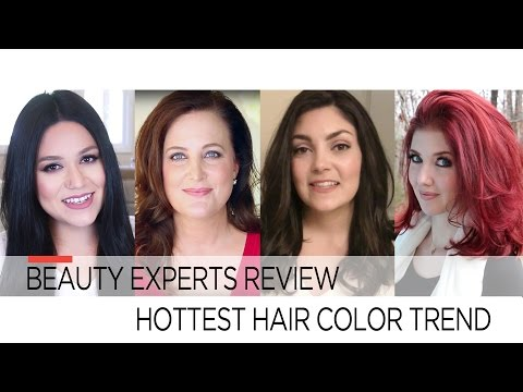 Beauty Experts Review Hottest Hair Color Trend