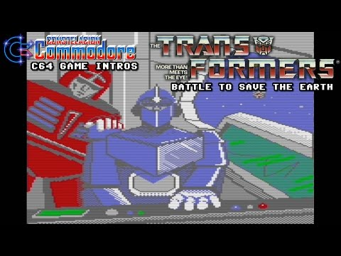 C64 Game Intro: Transformers The Battle to Save The Earth (Activision,1986)