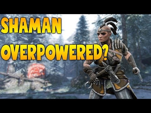 For Honor: Is Shaman OVERPOWERED? - default