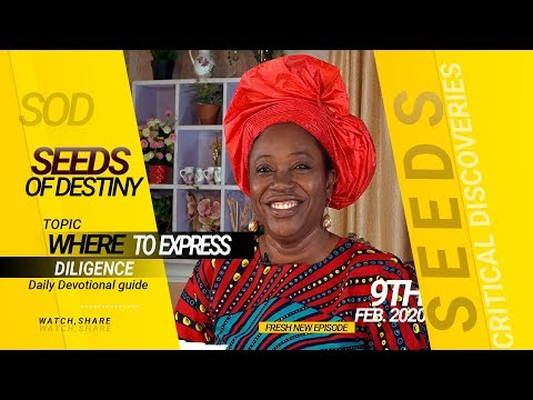 Dr Becky Paul-Enenche - SEEDS OF DESTINY - SUNDAY 9TH FEBRUARY, 2020