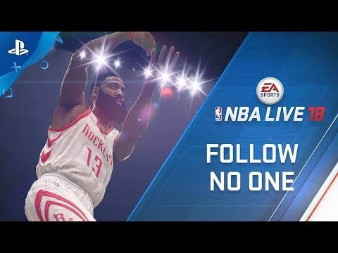 NBA Live 18 Introduces Cover Athlete James Harden | PS4