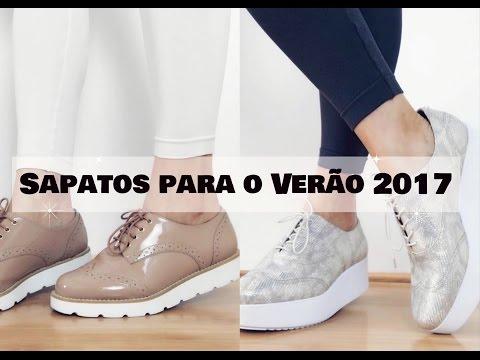 Sapatos para o Verão 2017