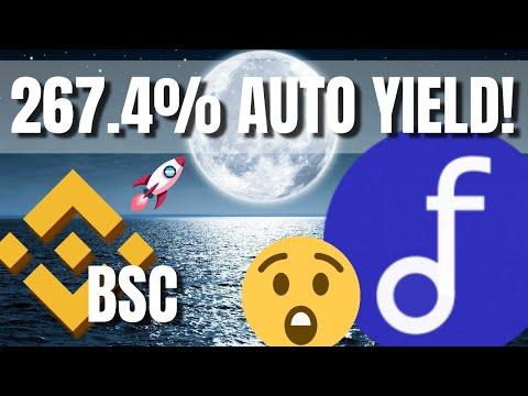 HOTTEST Binance Smart Chain Yields 267.4% APY!!! AutoFarm on BSC