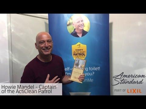 Howie Mandel – Captain of the ActiClean Patrol