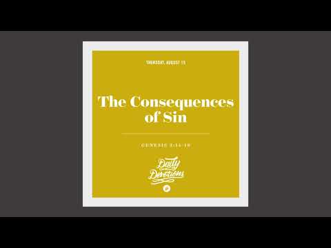 The Consequences of Sin - Daily Devotion