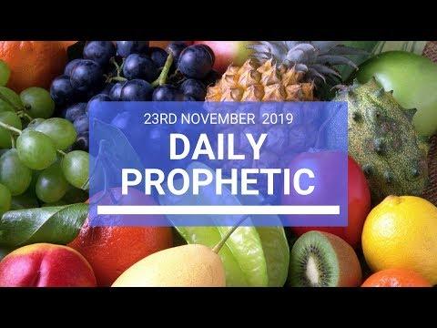 Daily Prophetic 23 November Word 2