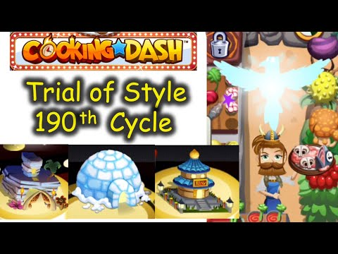 We will protect you with our light, Flo. TOS 190th Cycle (Cooking Dash   Trial of Style)