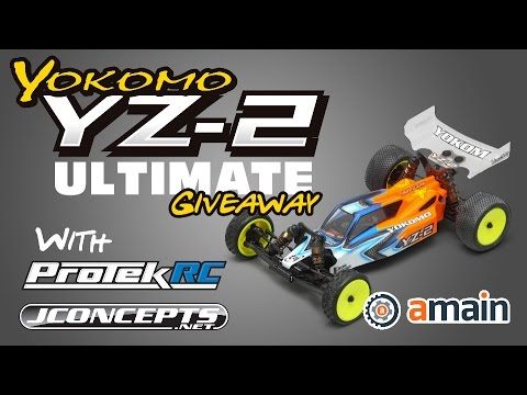 CLOSED! The Yokomo YZ-2 Ultimate Giveaway with JConcepts & ProTek R/C