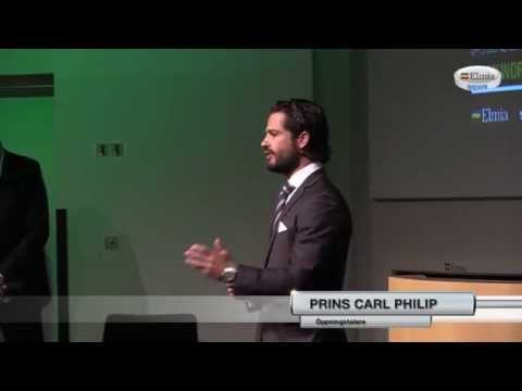 HRH Prince Carl Philip inaugerates World Bioenergy 2014
