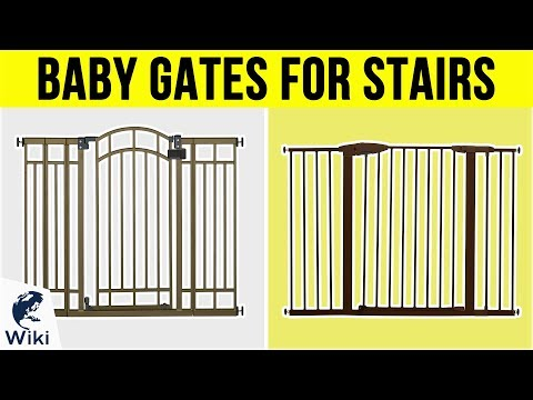 10 Best Baby Gates For Stairs 2019 Dr Kotb