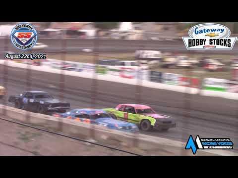 Sheyenne Speedway Hobby Stock A-Main (8/22/21) - dirt track racing video image