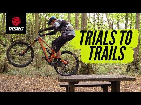 Trials Skills To Improve Your Trail Riding   MTB Skills