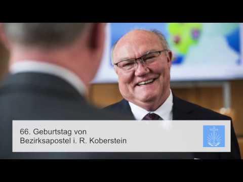 66. Geburtstag von Bezirksapostel i.R. Bernd Koberstein