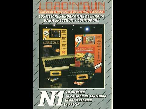 """Commodore 64 para Sinvers, HOY: """"Load n Run (1)"""" C64 REAL 50 Hz"""