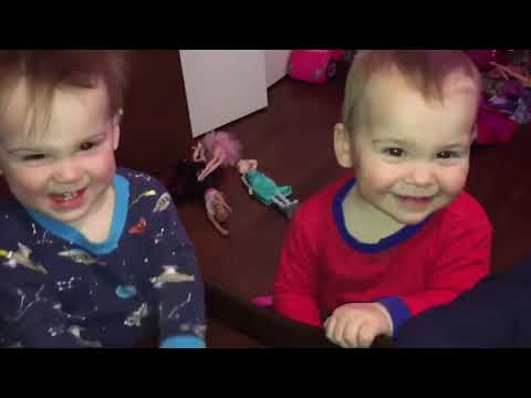 Best Videos Of Funny Twins Baby   Baby Awesome Video