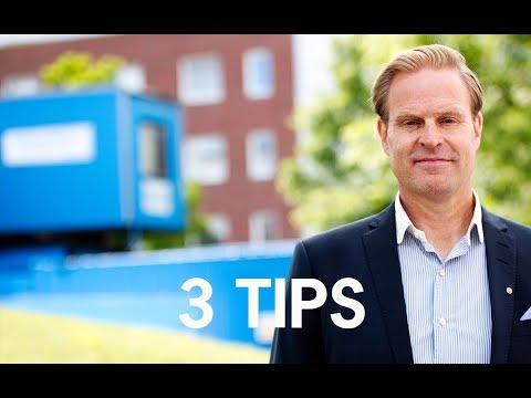 3 snabba tips för ett lyckat stambyte