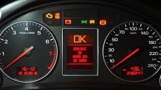 Reset Service Audi A4 B7 2004-2009