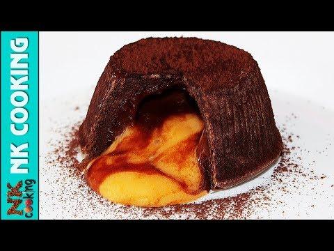 Шоколадный Фондан с Апельсиновым Центром ? Рецепты NK cooking