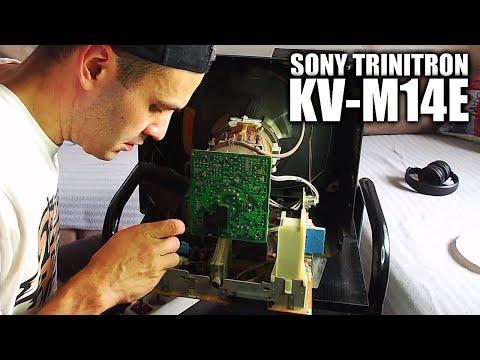 TV CRT - Ajustar geometría Sony Trinitron KV-M14E | Menú de Servicio (Service Mode)
