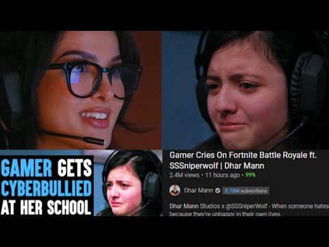 Girls Aren t Real Gamers    The Dhar Mann and SSSniperwolf Collab is More Pathetic than Fortnite