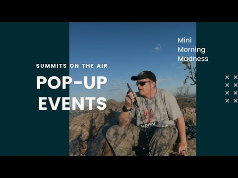 What is a SOTA Pop-up Event?