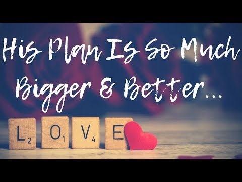 Let Him Do It...His Plan Is So Much Bigger & Better  Garden Story ~ Ep. 31